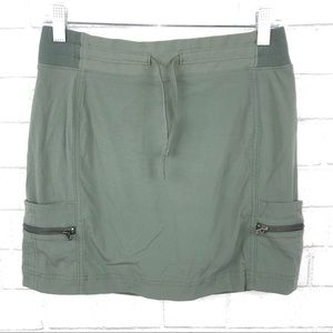 Athleta Army Green Trekkie Skirt 4 L2399